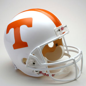 Tennesse Volunteers Full Size Replica Riddell Helmet